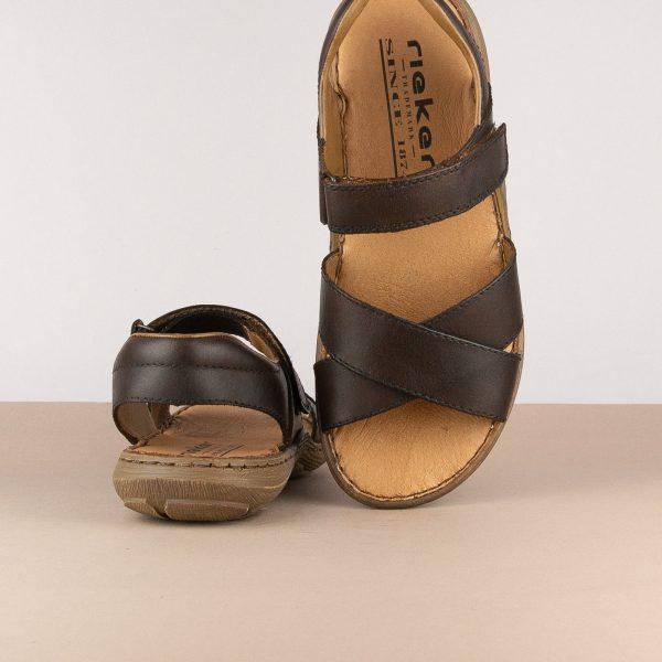 Чоловічі сандалі Rieker 22052-25 brown #6