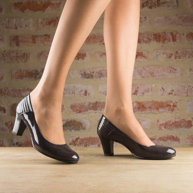 Туфлі Caprice 9-22413-225 Dk Grey Patent #1