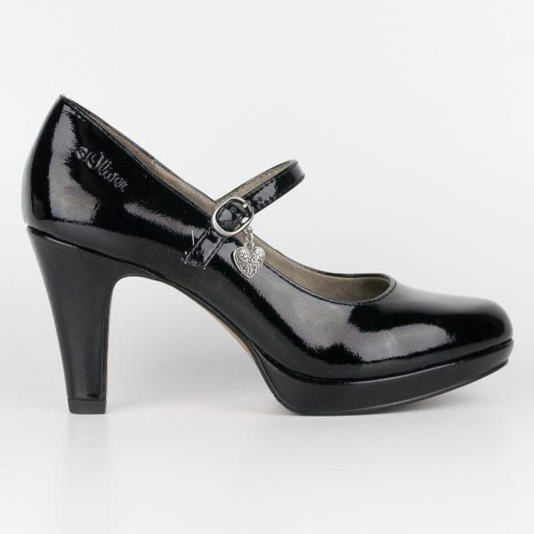 Туфлі s.Oliver 5-24400-018 Black #4
