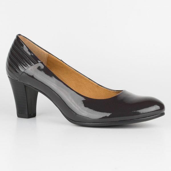 Туфлі Caprice 9-22413-225 Dk Grey Patent #2