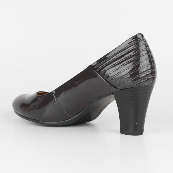 Туфлі Caprice 9-22413-225 Dk Grey Patent #3