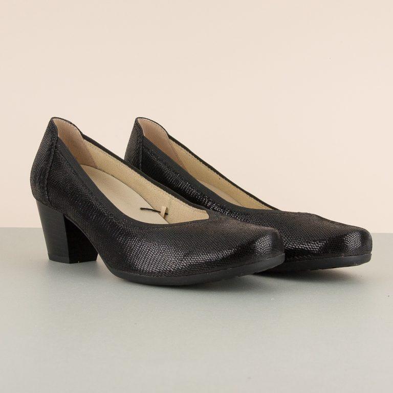 Туфлі Caprice 9-22301-010 Black Reptile #1