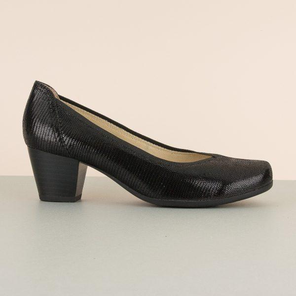 Туфлі Caprice 9-22301-010 Black Reptile #3