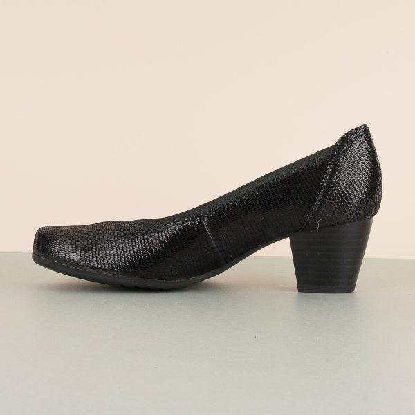 Туфлі Caprice 9-22301-010 Black Reptile #4