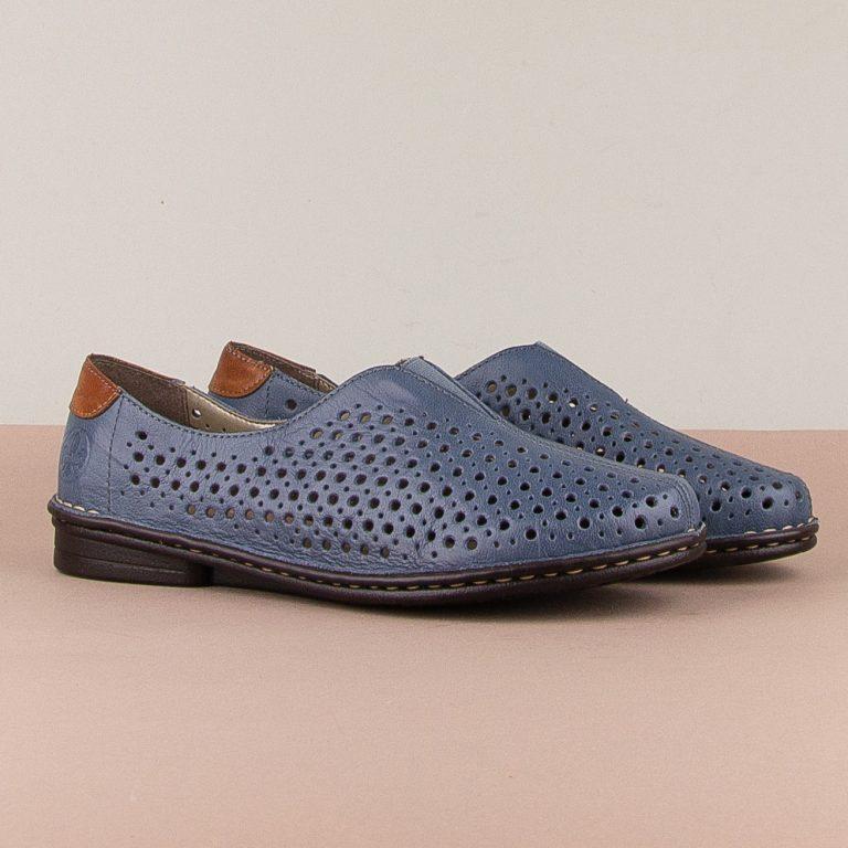 Туфлі Rieker 48457-12 Blue #1