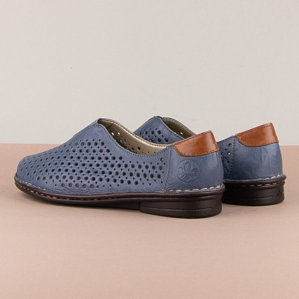 Туфлі Rieker 48457-12 Blue #2