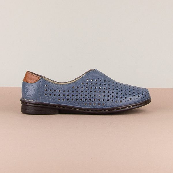Туфлі Rieker 48457-12 Blue #4