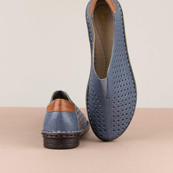 Туфлі Rieker 48457-12 Blue #6