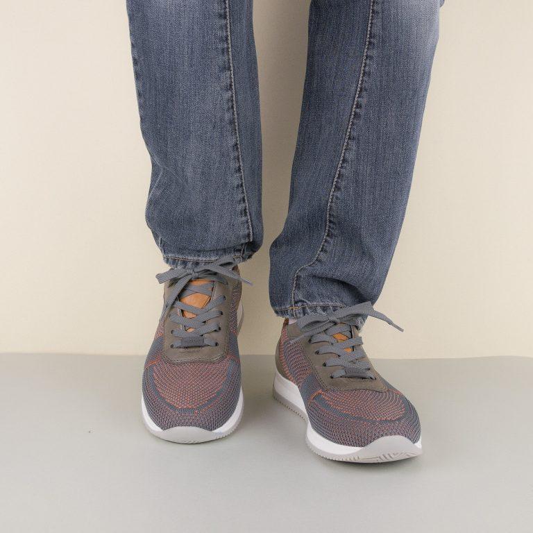 Кросівки Ara 36001-11 Grey/Orange #1