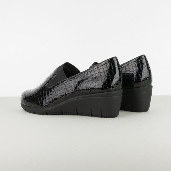 Туфлі Caprice 9-24701-064 Blk Croco Pat. #2