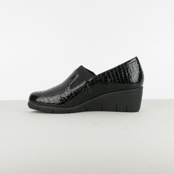 Туфлі Caprice 9-24701-064 Blk Croco Pat. #4