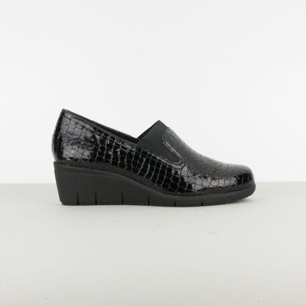 Туфлі Caprice 9-24701-064 Blk Croco Pat. #3