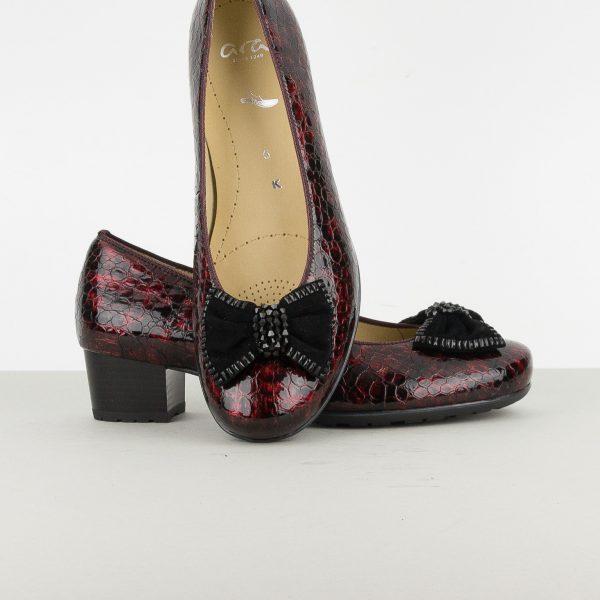 Туфлі Ara 42051-06 Burgundy #6