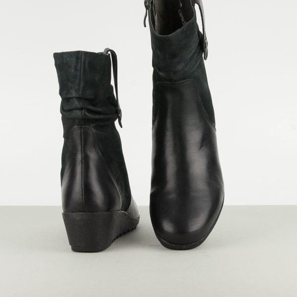 Напівчобітки Caprice 9-25436-022 Black Nappa #6