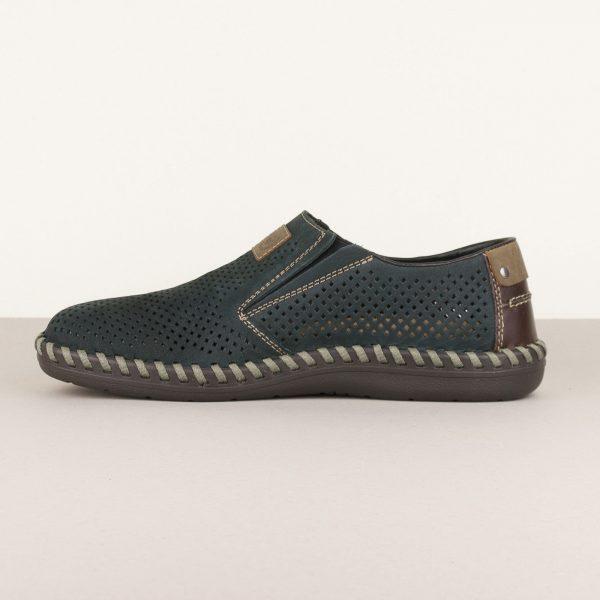 Туфлі Rieker В2455-14 Blue #4