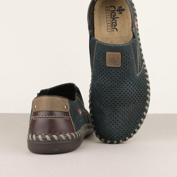 Туфлі Rieker В2455-14 Blue #6