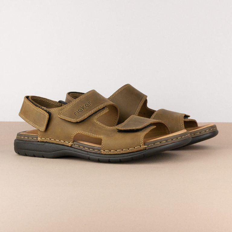 Чоловічі сандалі Rieker 25558-25 brown #1