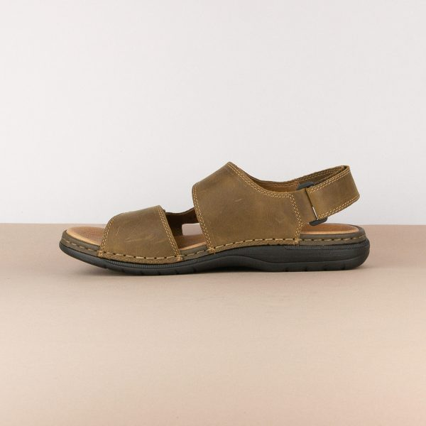 Чоловічі сандалі Rieker 25558-25 brown #4