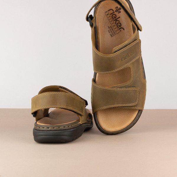 Чоловічі сандалі Rieker 25558-25 brown #6