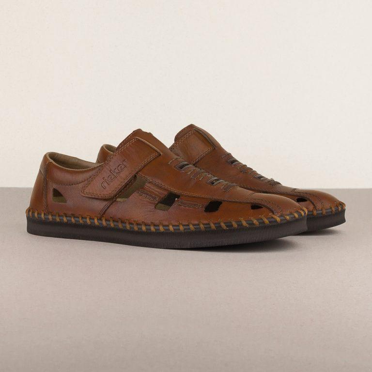 Чоловічі сандалі Rieker B2983-24 brown #1