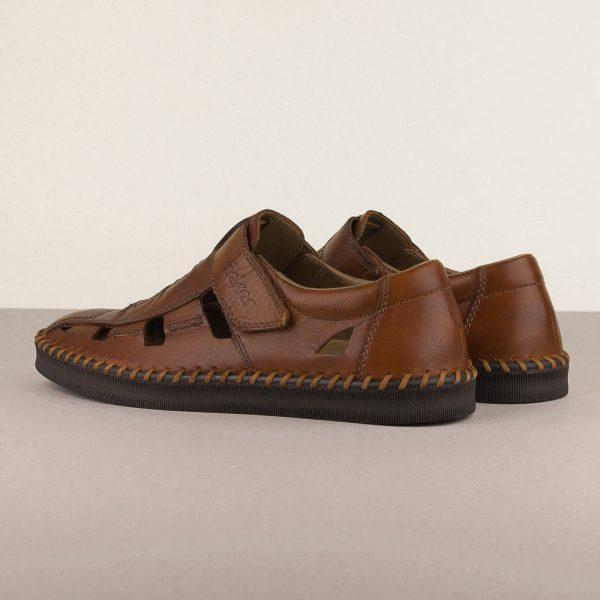Чоловічі сандалі Rieker B2983-24 brown #2