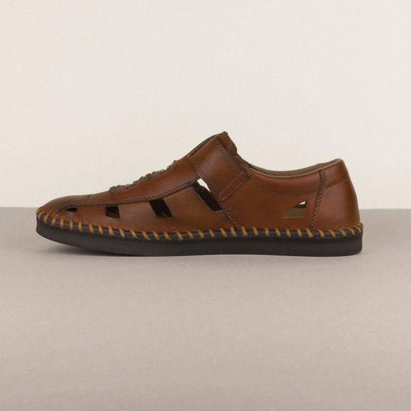 Чоловічі сандалі Rieker B2983-24 brown #4