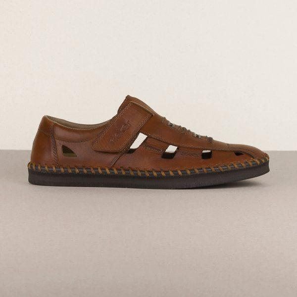 Чоловічі сандалі Rieker B2983-24 brown #3