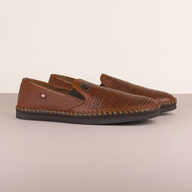 Чоловічі туфлі Rieker B2957-24 brown #1