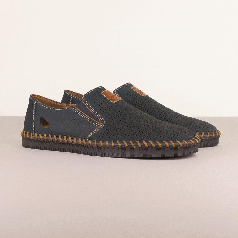 Чоловічі туфлі Rieker B2985-14 Blue #1