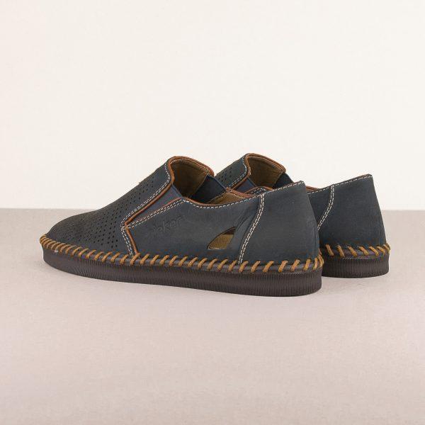 Чоловічі туфлі Rieker B2985-14 Blue #2