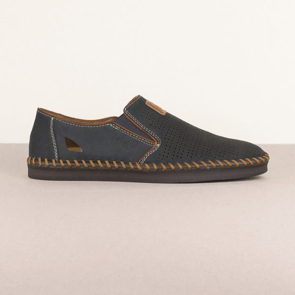 Чоловічі туфлі Rieker B2985-14 Blue #3