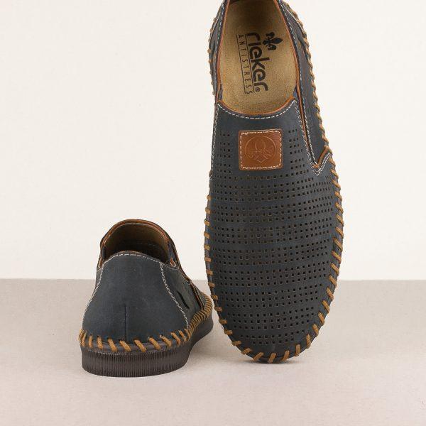 Чоловічі туфлі Rieker B2985-14 Blue #6