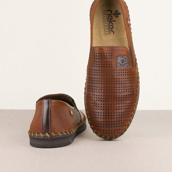 Чоловічі туфлі Rieker B2957-24 brown #6