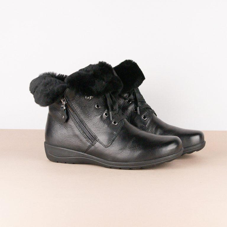 Черевики зимові Caprice 9-26150-022 Black Nappa #1