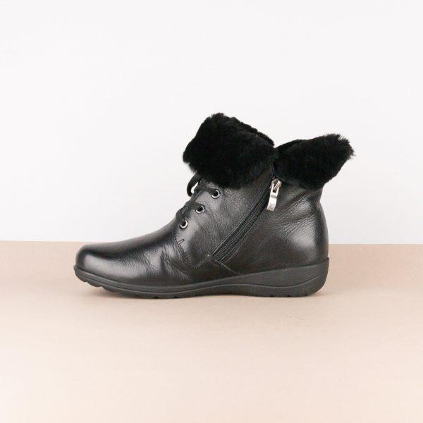Черевики зимові Caprice 9-26150-022 Black Nappa #4