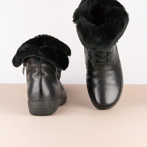 Черевики зимові Caprice 9-26150-022 Black Nappa #7