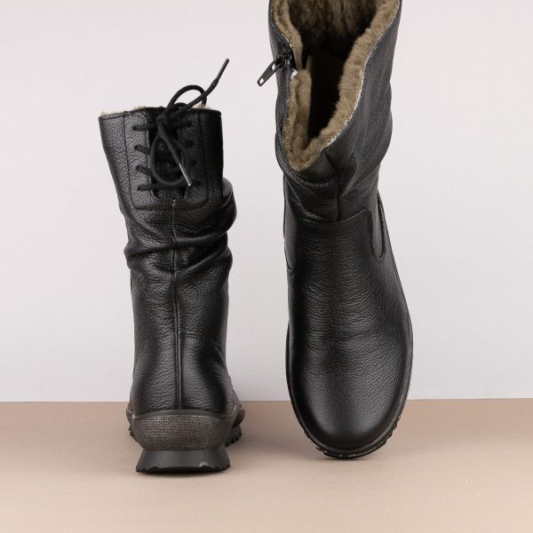 Напівчобітки Remonte R8471-01 Black #6