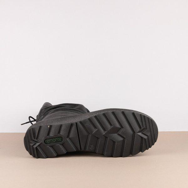 Напівчобітки Remonte R8471-01 Black #5
