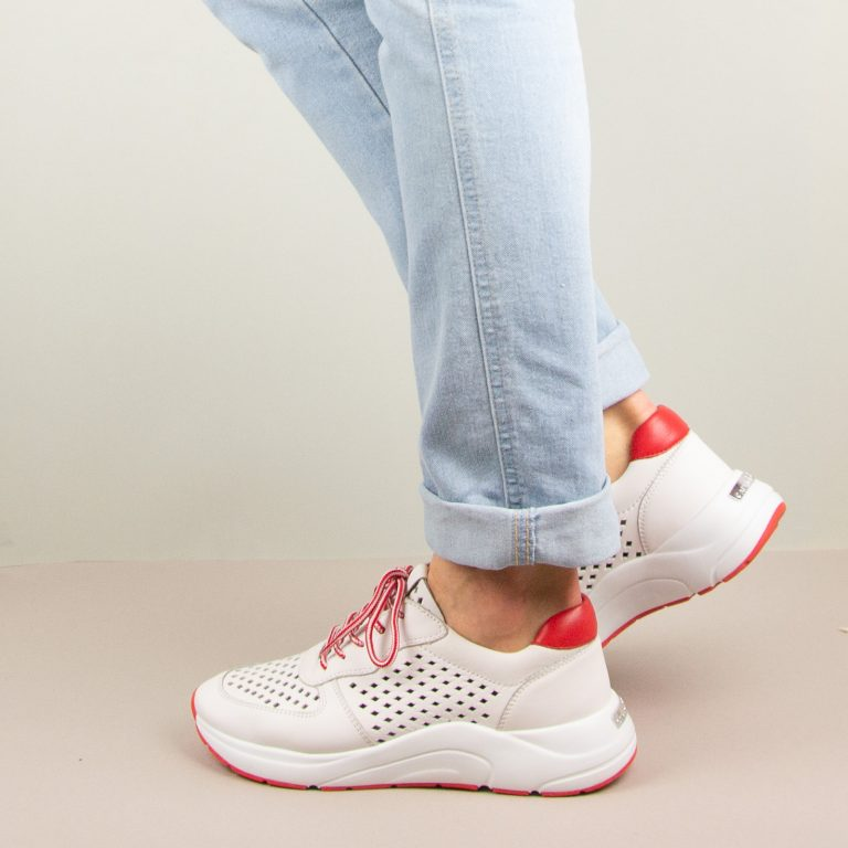 Кросівки Caprice 9-23500-151 White/Red #1