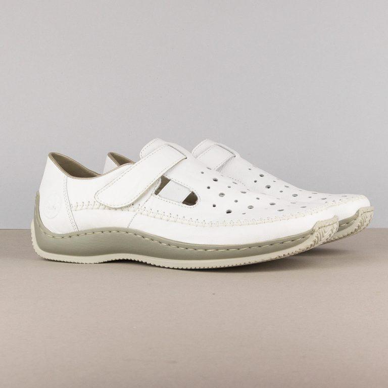 Жіночі туфлі Rieker L1775-80 weiss #1