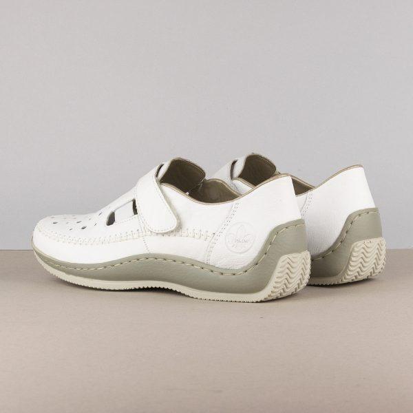 Жіночі туфлі Rieker L1775-80 weiss #2