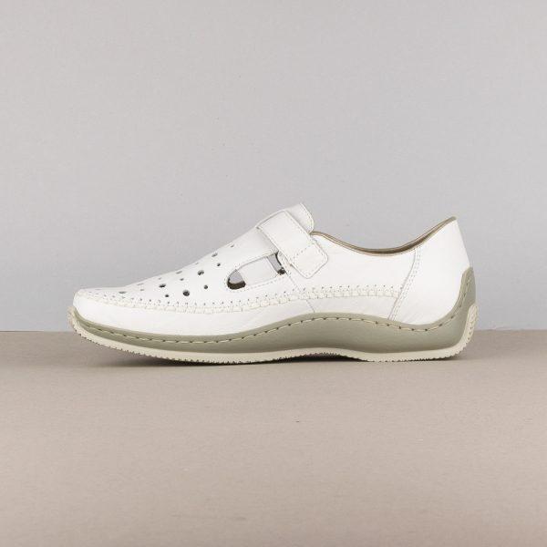 Жіночі туфлі Rieker L1775-80 weiss #4