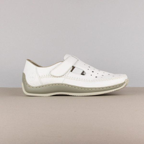 Жіночі туфлі Rieker L1775-80 weiss #3