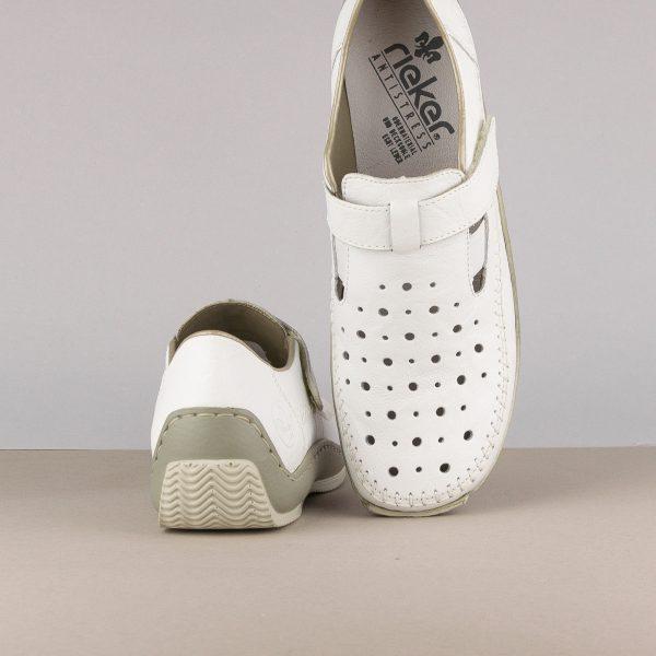 Жіночі туфлі Rieker L1775-80 weiss #6