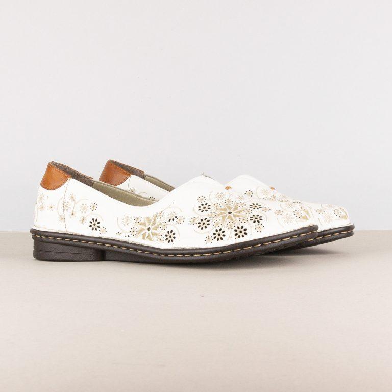 Жіночі туфлі Rieker 48456-80 White #1