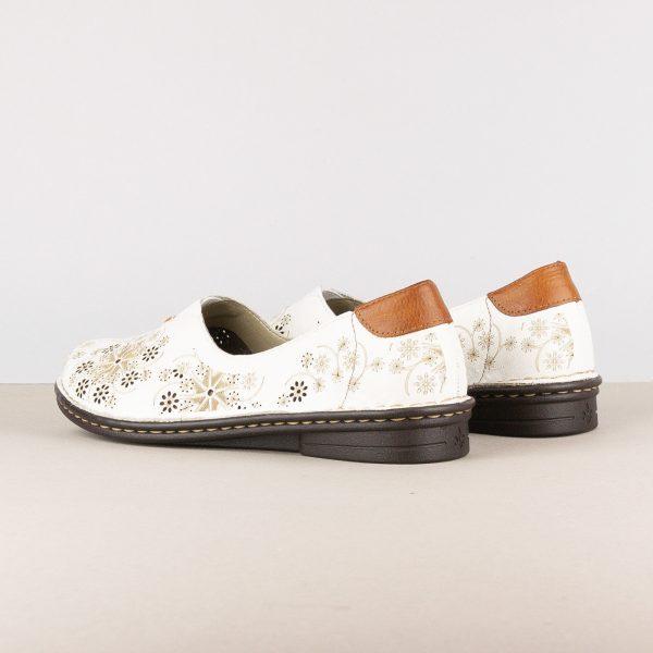 Жіночі туфлі Rieker 48456-80 White #2