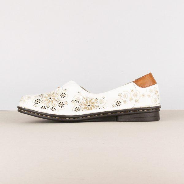 Жіночі туфлі Rieker 48456-80 White #4