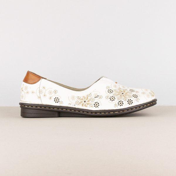 Жіночі туфлі Rieker 48456-80 White #3
