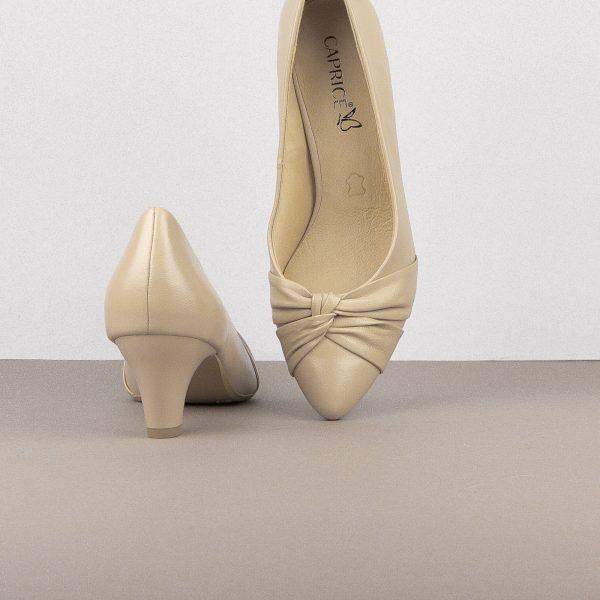 Туфлі Caprice 9-22406-431 Beige Softnap #6
