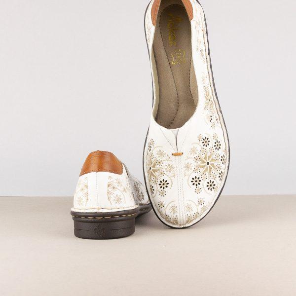 Жіночі туфлі Rieker 48456-80 White #6